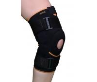 Бандаж на коленный сустав с полицентрическим шарниром и силиконовым кольцом ARK2104, Armor