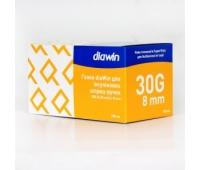Универсальные иголки для инсулиновых шприц-ручек, 8 мм (100шт)