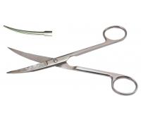 Ножницы остроконечные вертикально-изогнуты длина 17 см