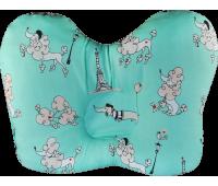 """Ортопедическая подушка для новорожденных """"Бабочка"""" в коробке J2302"""