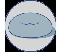 Ортопедическая подушка ректальная с эффектом памяти (арт.J2512)