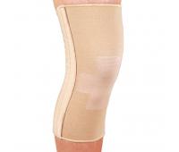 Бандаж эластичный на коленный сустав со спиральными ребрами ES-719, Ortop (Тайвань)