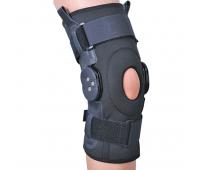 Бандаж на коленный сустав со специальными шарнирами для регулировки угла сгибания ЕS-797 Ortop (Тайвань)