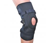 Бандаж на коленный сустав разъемный с полицентрическими шарнирами ЕS-798, Ortop (Тайвань)