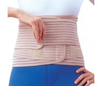 Бандаж для спины согревающий с 6-ю ребрами жесткости EB-537, Ortop (Тайвань)