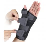 Бандаж для лучезапястного сустава и суставов большого пальца с анатомическими шинами EH-404,  Ortop (Тайвань)