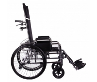 Многофункциональная коляска «RECLINER» хром