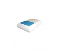 Ортопедическая подушка с охлаждающим гелем Comfort Gel Pillow, Qmed (Польша)