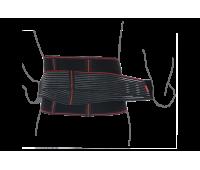 Пояс ортопедический аэропреновый с ребрами жесткости R3202