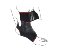 Бандаж на голеностопный сустав с дополнительной фиксацией R7202