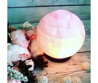 """Соляной светильник """"Сфера"""", 5-6 кг"""