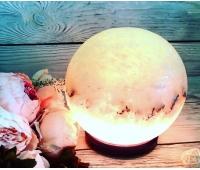 """Соляной светильник """"Шар"""", 6-7 кг"""