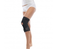Бандаж коленного сустава с ребрами жесткости на шарнирах, неопреновый, ТИП 511