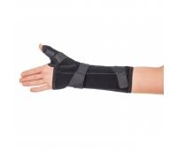 Бандаж для лучезапястного сустава с фиксацией большого пальца, правый, тип 553