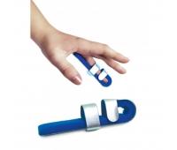 Ортез шина для пальца руки с фиксацией в ладони, металлическая Торос-Груп,  ТИП 503