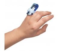 Ортез шина для фаланги пальца руки с фиксацией, двусторонняя, металлическая Торос-Груп,  ТИП 502