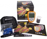 Акционный набор Глюкометр Wellion Luna Duo+тест-полоски №25шт. (глюкоза)+тест-полоски №5 (холестерин)