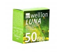 Тест-полоски Wellion Luna Duo, 50 шт.