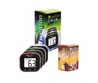 Акционный набор Глюкометр Wellion Calla Light с 50 тест-полосками в комплекте